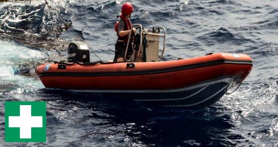 Begleitboottraining-Rettung - Segeln