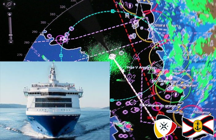 "Praxistraining Navigation auf der ""Crown Seaways"""